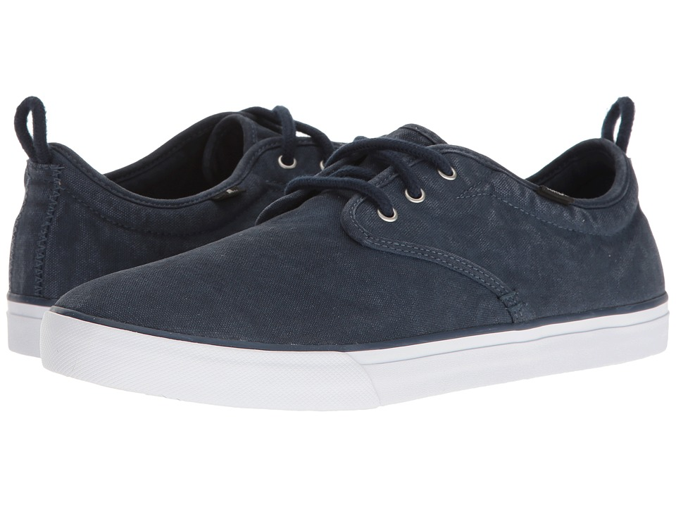 Sanuk - Guide Plus Washed (Navy Washed) Men's Lace up casual Shoes