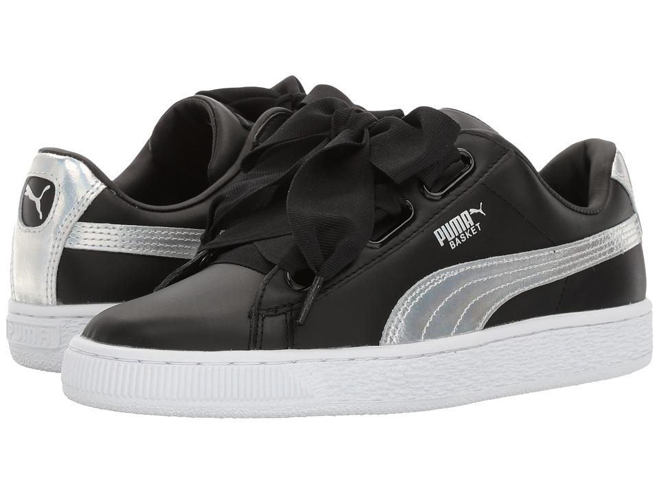 PUMA - Basket Heart Explosive (Puma Black/Puma Black) Women's Shoes