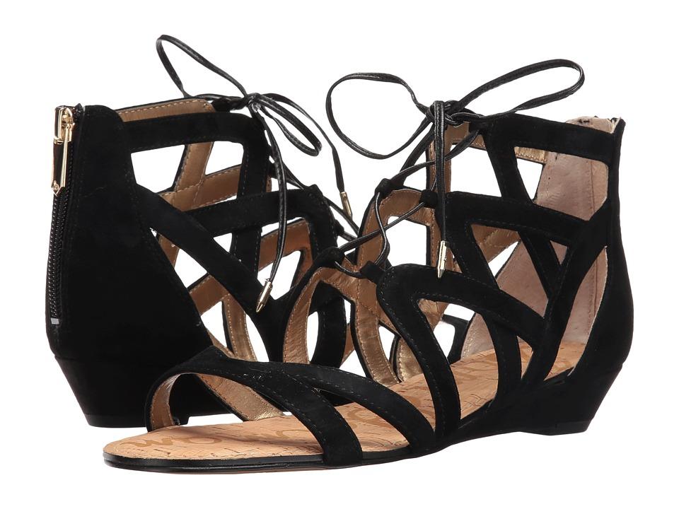 Sam Edelman - Dawson (Black Suede) Women's Dress Sandals