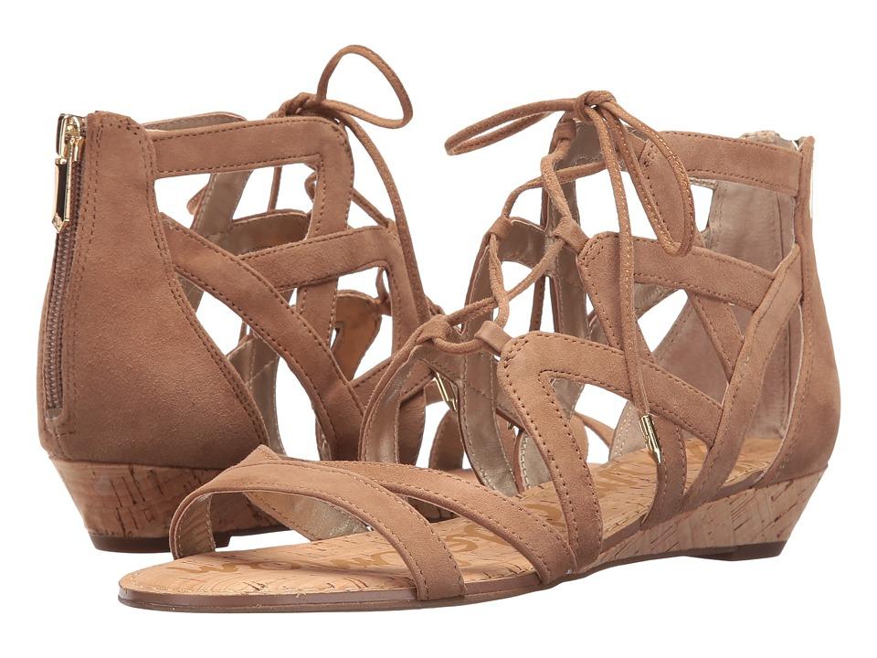 Sam Edelman - Dawson (Golden Caramel Suede) Women's Dress Sandals