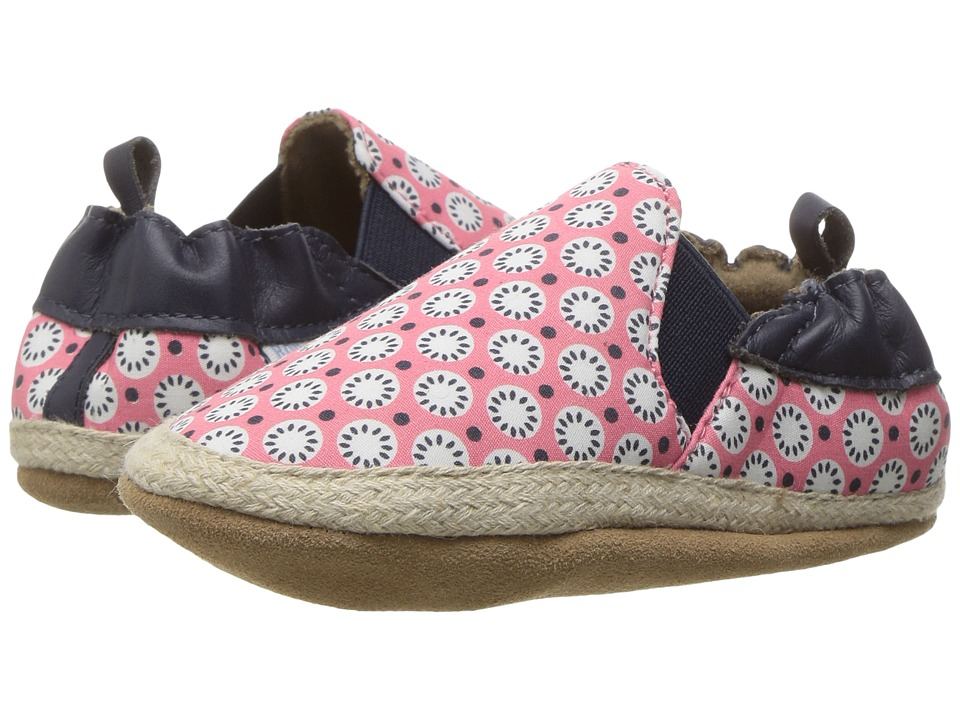 Robeez - Blossom Mania Soft Sole (Infant/Toddler) (Azalea) Girl's Shoes