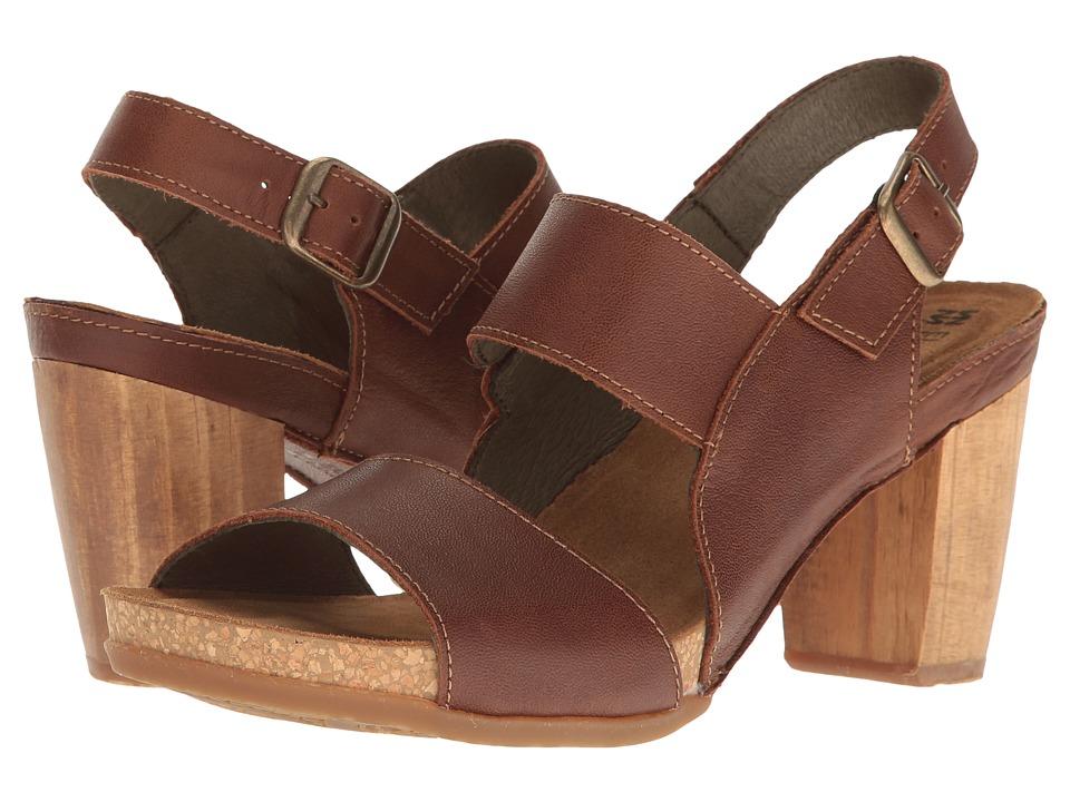 El Naturalista - Kuna N5020 (Wood) Women's Shoes