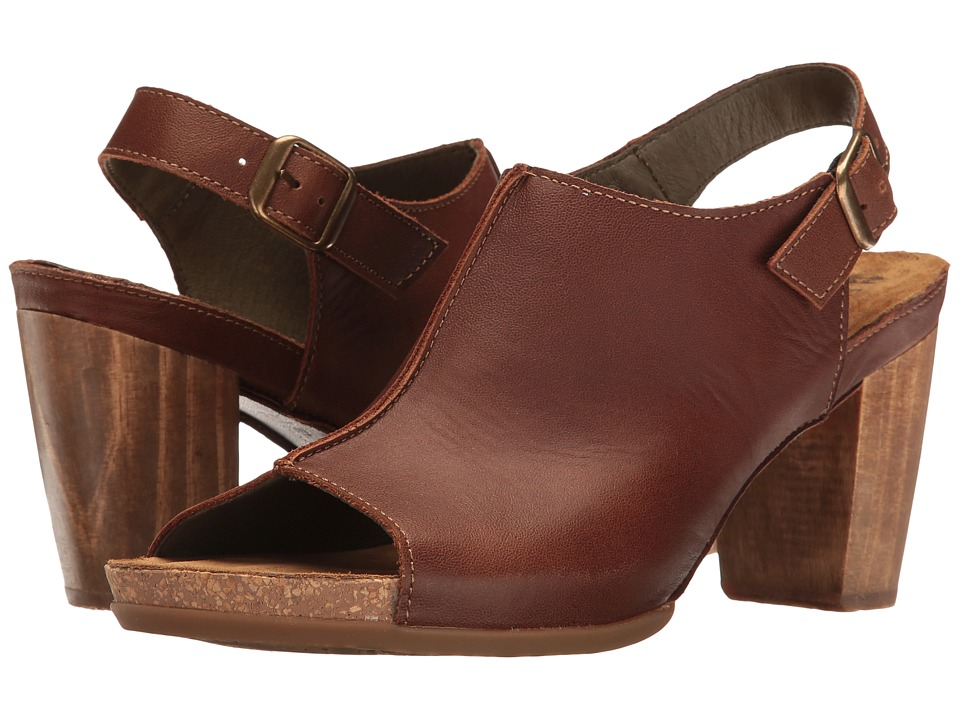 El Naturalista - Kuna N5022 (Wood) Women's Shoes