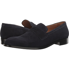 Suede Penny Loafer by Emporio Armani