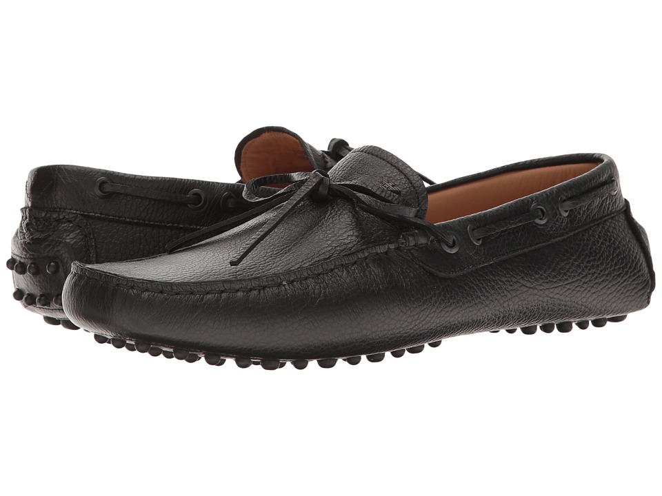 Emporio Armani - Driver Moccasin (Black) Men's Shoes