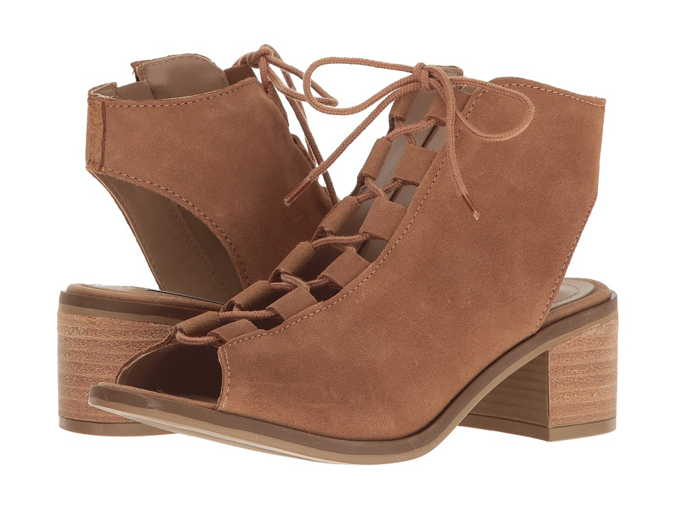 Steve Madden - Adelene (Tan Suede) Women's Shoes