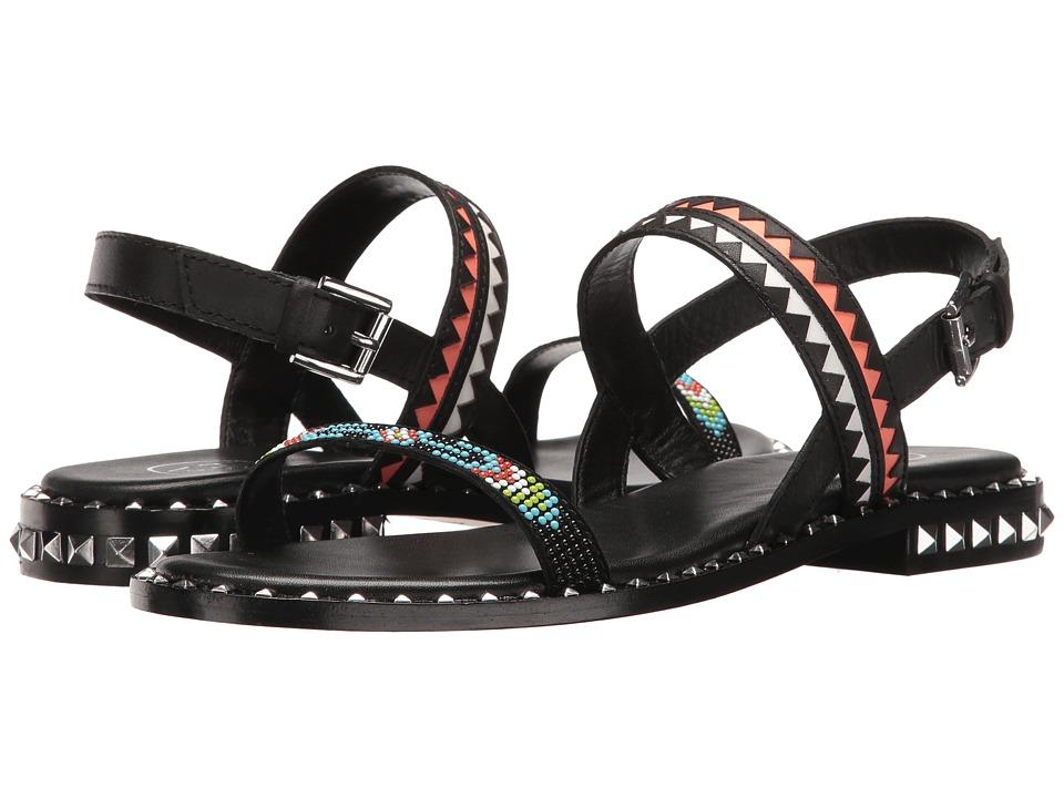 ASH - Paco (Black/Multicolor Kid Suede/Brasil) Women's Shoes