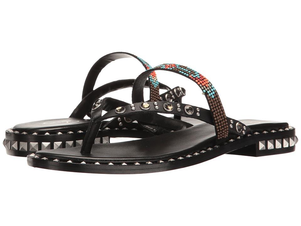 ASH - Pasha (Black/Multicolor) Women's Shoes