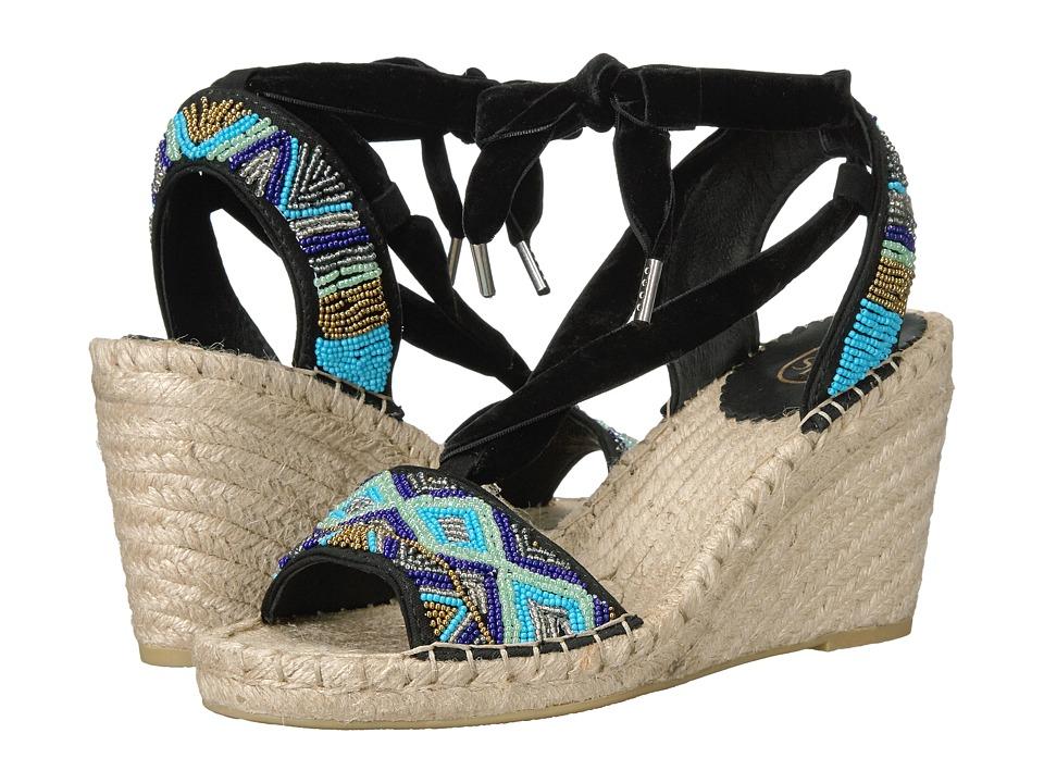ASH - Paola (Blue/Black) Women's Shoes