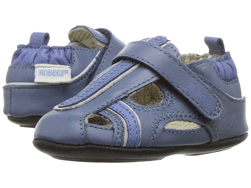 Robeez - Rugged Rob Mini Shoez (Infant/Toddler) (Twilight) Boys Shoes