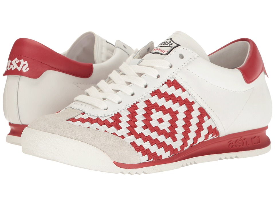 ASH - Scorpio (Off-White/White/Red Sam Baby Softy) Women's Shoes
