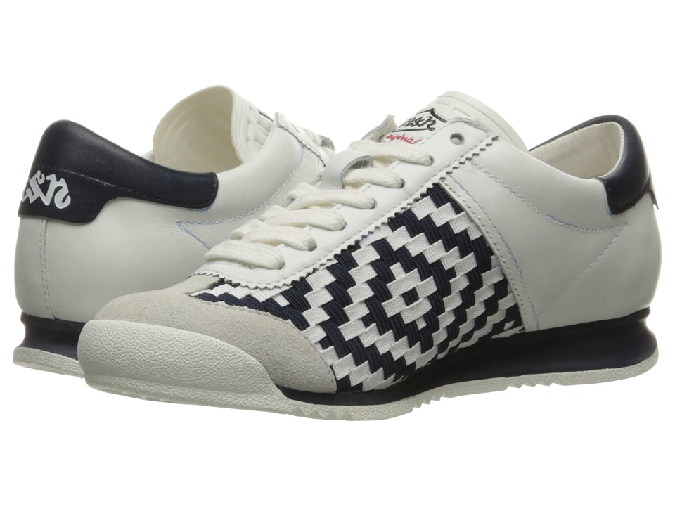 ASH - Scorpio (Off-White/White/Navy Sam Baby Softy) Women's Shoes