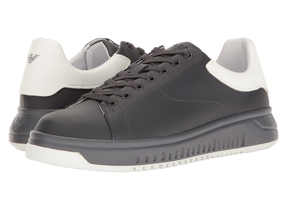Emporio Armani - Bicolor Nevada Sneaker (Sky/White) Men's Shoes