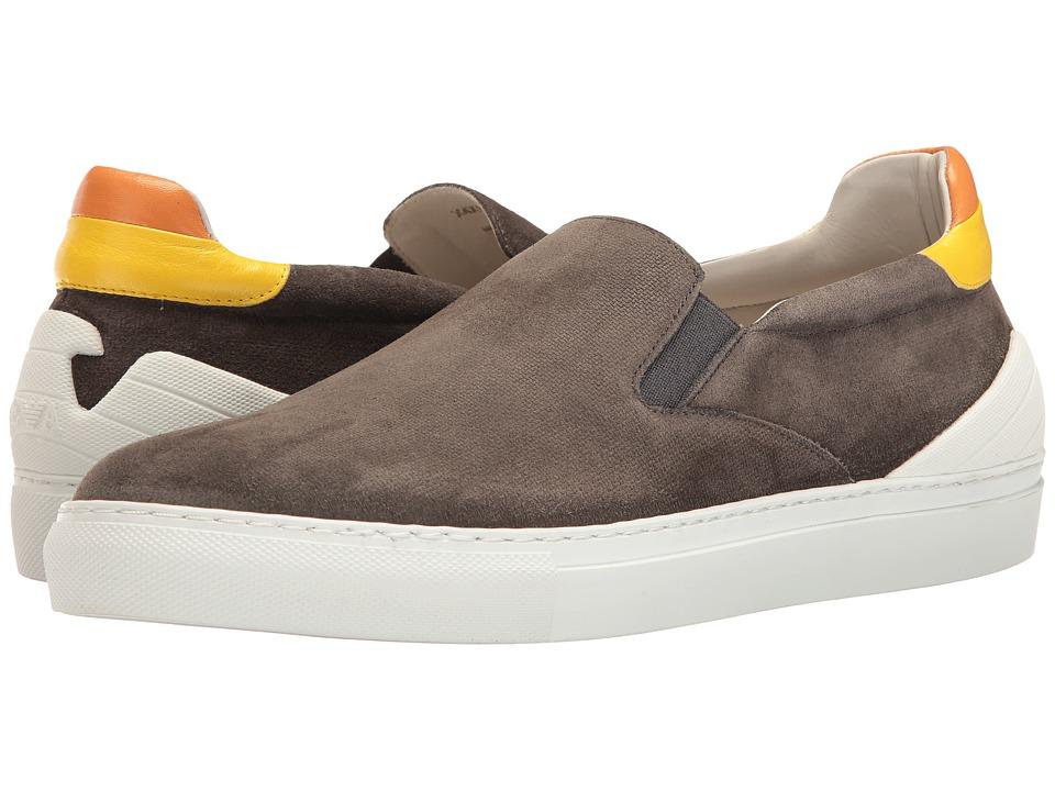 Emporio Armani - Slip-On Sneaker (Pietra) Men's Shoes
