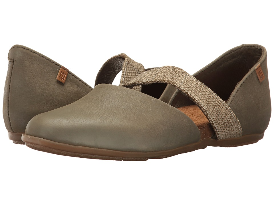 El Naturalista - Stella ND57 (Kaki) Women's Shoes