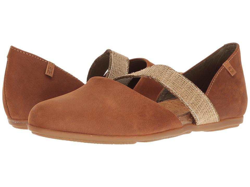 El Naturalista - Stella ND57 (Wood) Women's Shoes