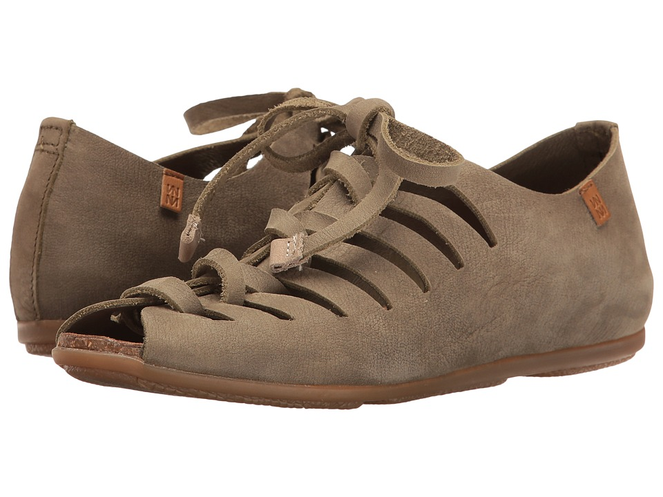 El Naturalista - Stella ND52 (Kaki) Women's Shoes