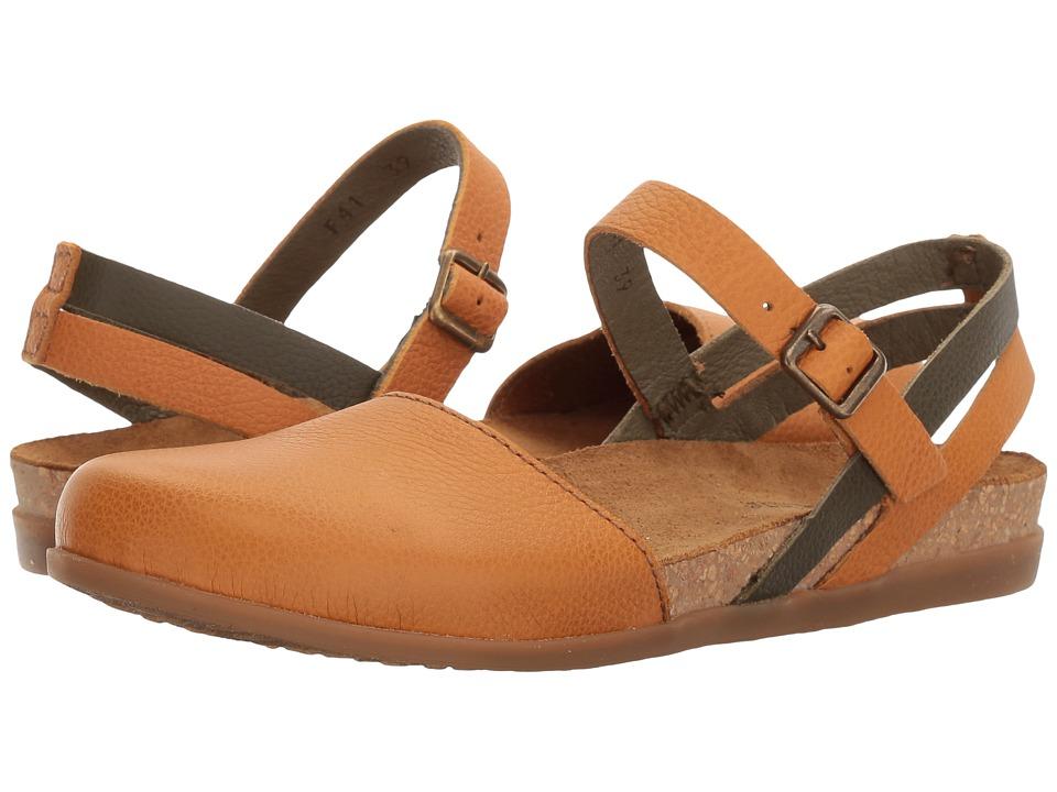 El Naturalista - Zumaia NF41 (Carrot/Kaki) Women's Shoes