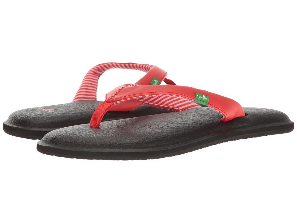 Sanuk - Yoga Chakra (Red) Women's Sandals