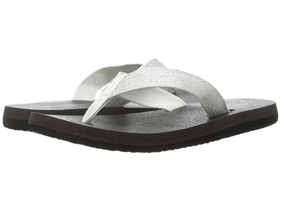 Sanuk - Yoga Mat Web-Bling (Glacier/Silver) Women's Sandals