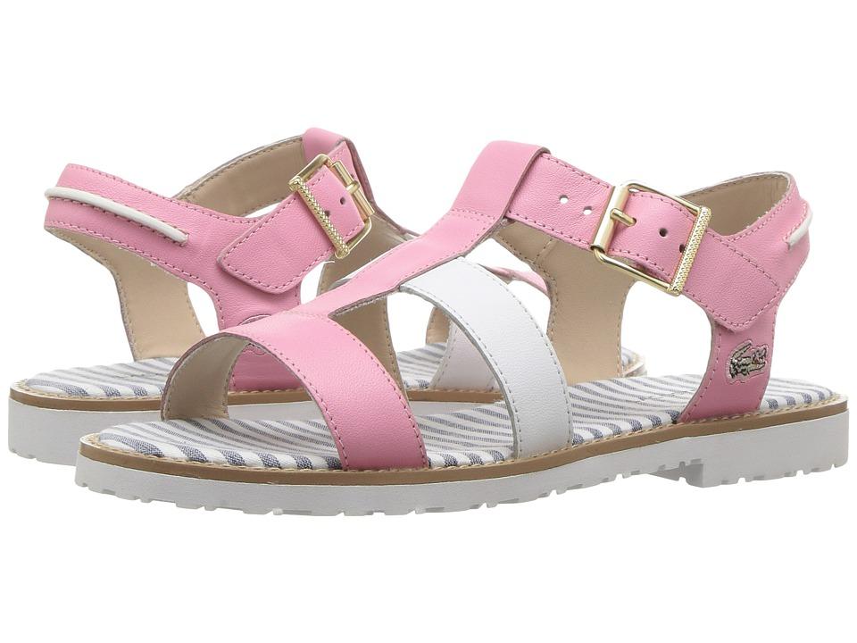 Lacoste Kids - Jardena Sandal 217 1 (Little Kid) (Pink/White) Girls Shoes