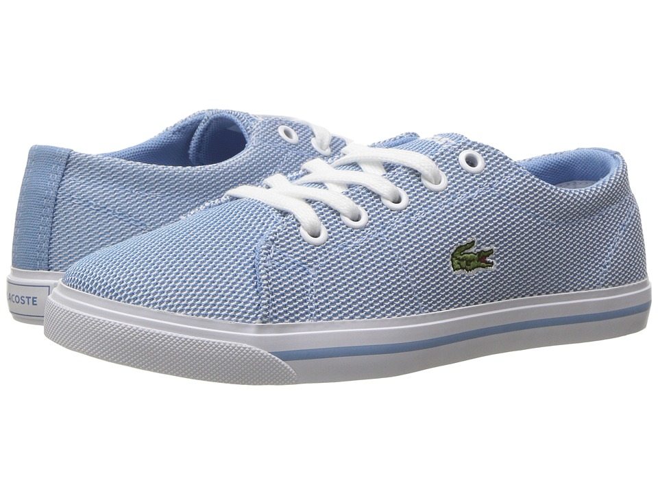 Lacoste Kids - Marcel 217 1 (Little Kid) (Light Blue/Light Blue) Kid's Shoes