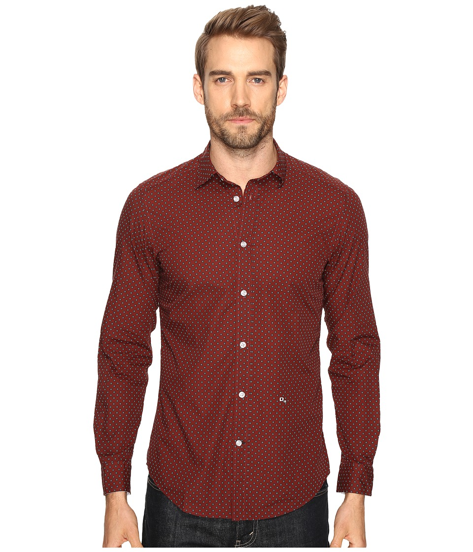 Diesel S-Blanca Shirt (Red) Men