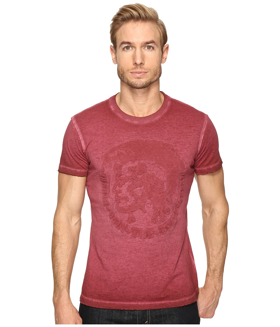 Diesel - T-Diego-MM T-Shirt (Red) Men's T Shirt