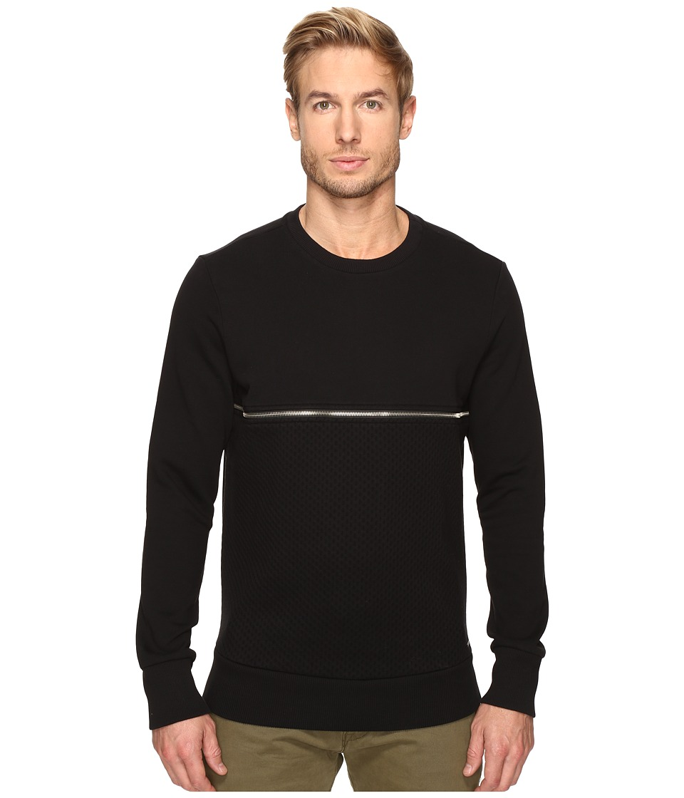 Diesel - S-Dry Sweatshirt (Black) Men's Sweatshirt
