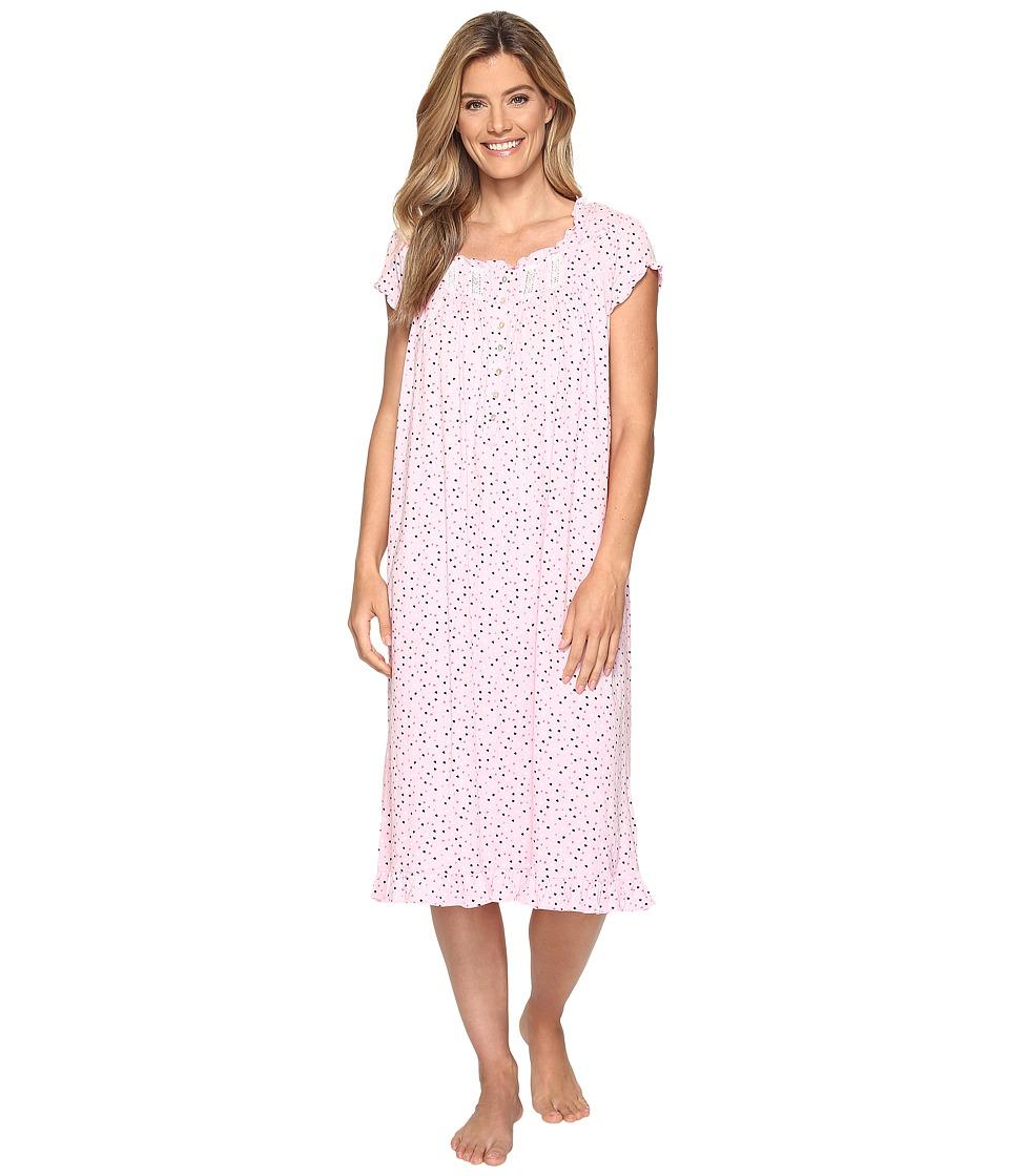 Eileen West - Waltz Nightgown (Pink Hearts) Women's Pajama