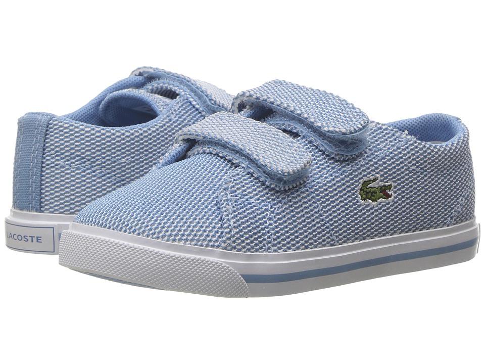 Lacoste Kids - Marcel 217 1 (Toddler/Little Kid) (Light Blue/Light Blue) Kid's Shoes