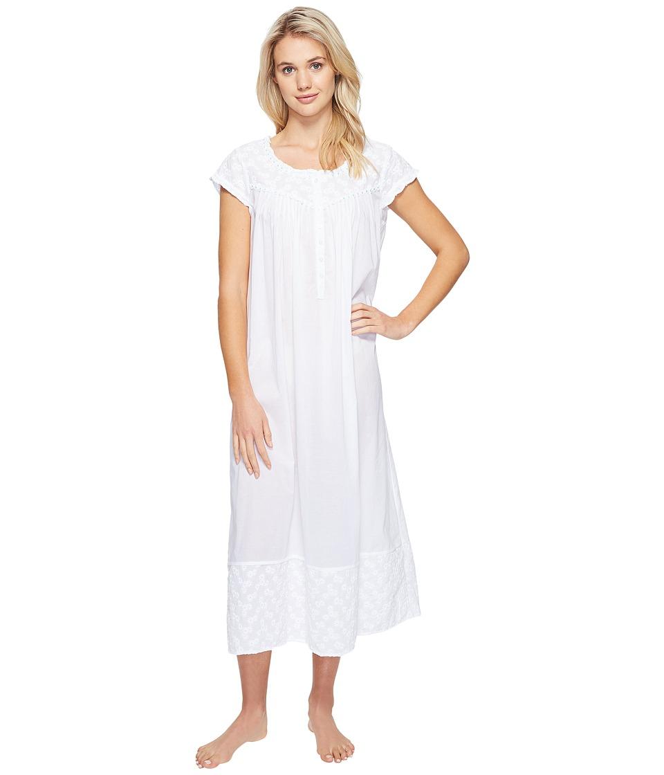 Eileen West - Ballet Nightgown (White) Women's Pajama