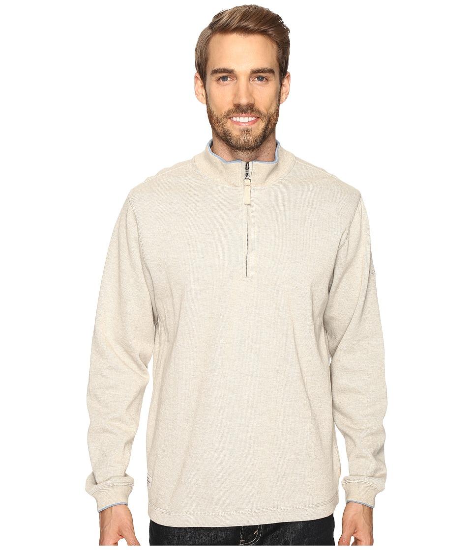 Quiksilver Waterman - Point Sur 3 Sweatshirt (Sandbar) Men's Sweatshirt
