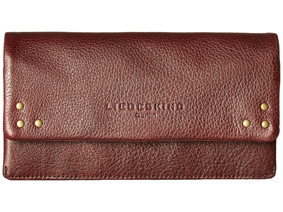 Liebeskind - Slam B Snap Fold-Over Wallet (Maroni) Wallet Handbags