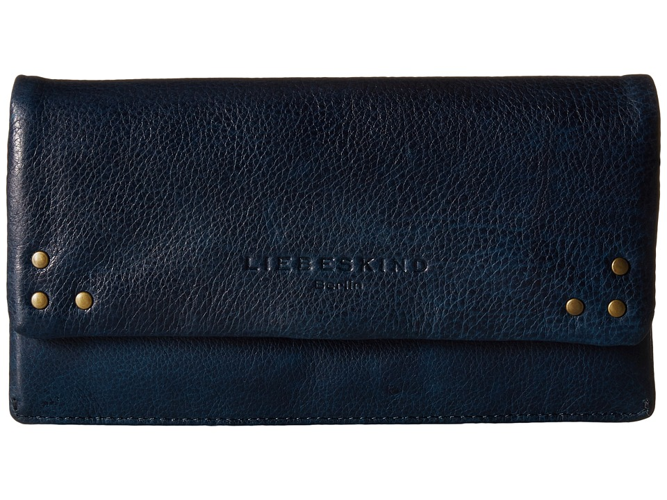 Liebeskind - Slam B Snap Fold-Over Wallet (Sky) Wallet Handbags