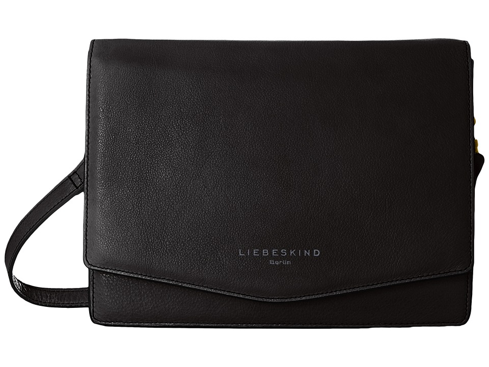 Liebeskind - Dallas Crossbody (Black) Cross Body Handbags