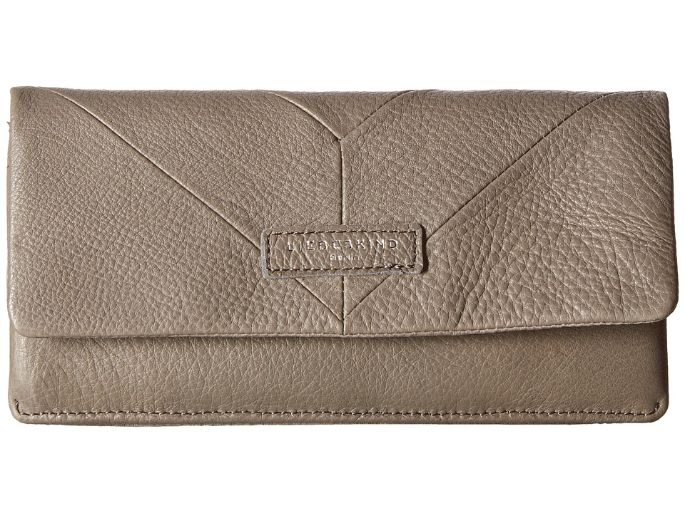 Liebeskind - Slam Snap Fold-Over Wallet (French Grey) Wallet