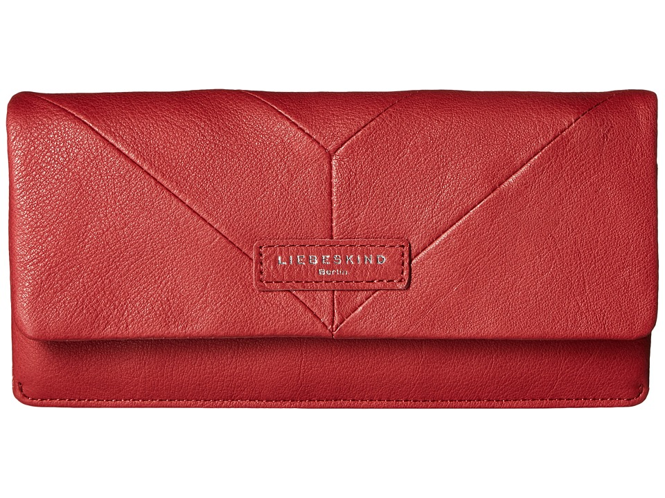 Liebeskind - Slam Snap Fold-Over Wallet (Kiss Red) Wallet