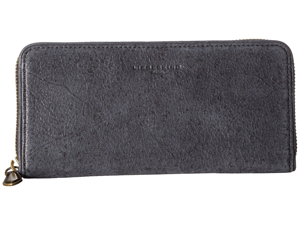 Liebeskind - Sally Continental Wallet (Black Silky) Continental Wallet