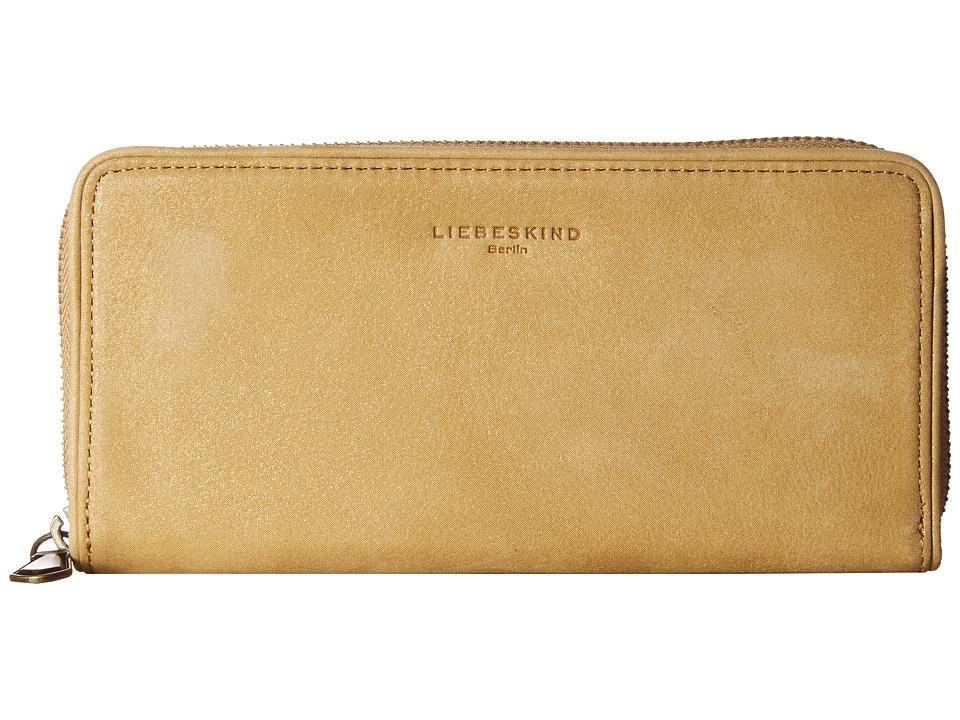 Liebeskind - Sally Continental Wallet (Mustard) Continental Wallet
