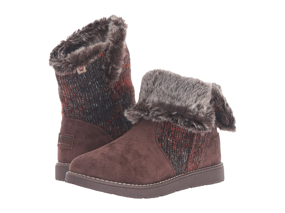 BOBS from SKECHERS - Bobs Alpine - Winter Warrior (Chocolate) Women's Cold Weather Boots