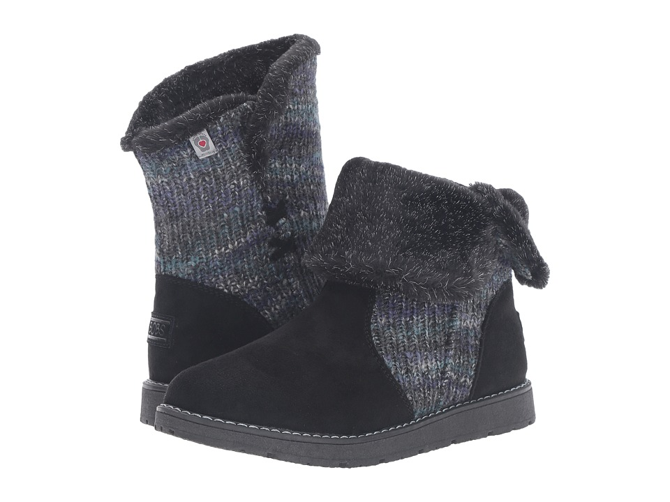 BOBS from SKECHERS - Bobs Alpine - Winter Warrior (Black) Women's Cold Weather Boots