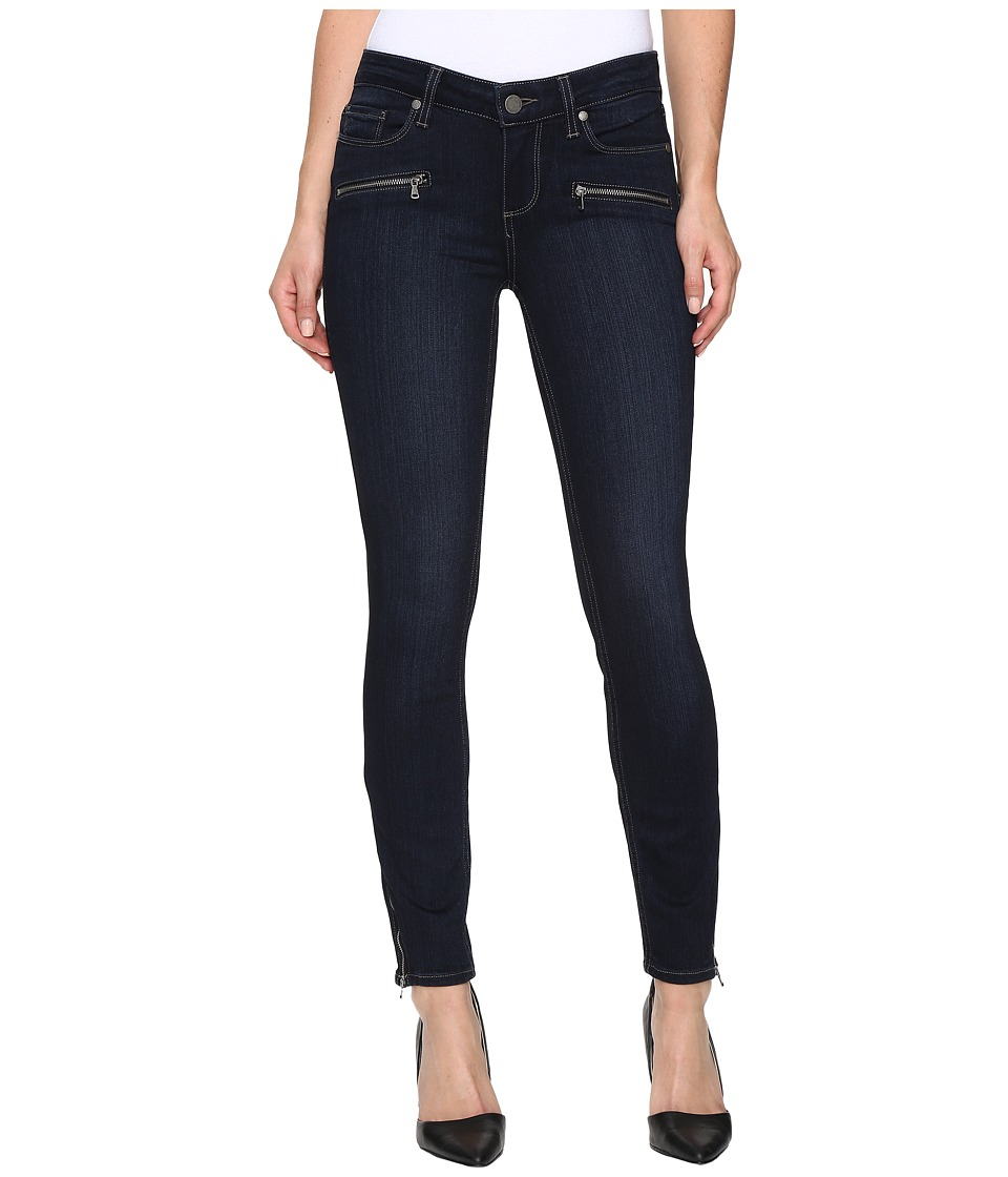 Paige Jane Zip Ultra Skinny w/ Caballo Inseam in Dayton No Whiskers (Dayton No Whiskers) Women