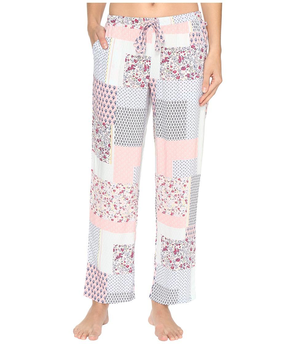 Jane & Bleecker - Rayon Lawn Pants 3581302 (Varsity Patchwork) Women's Pajama