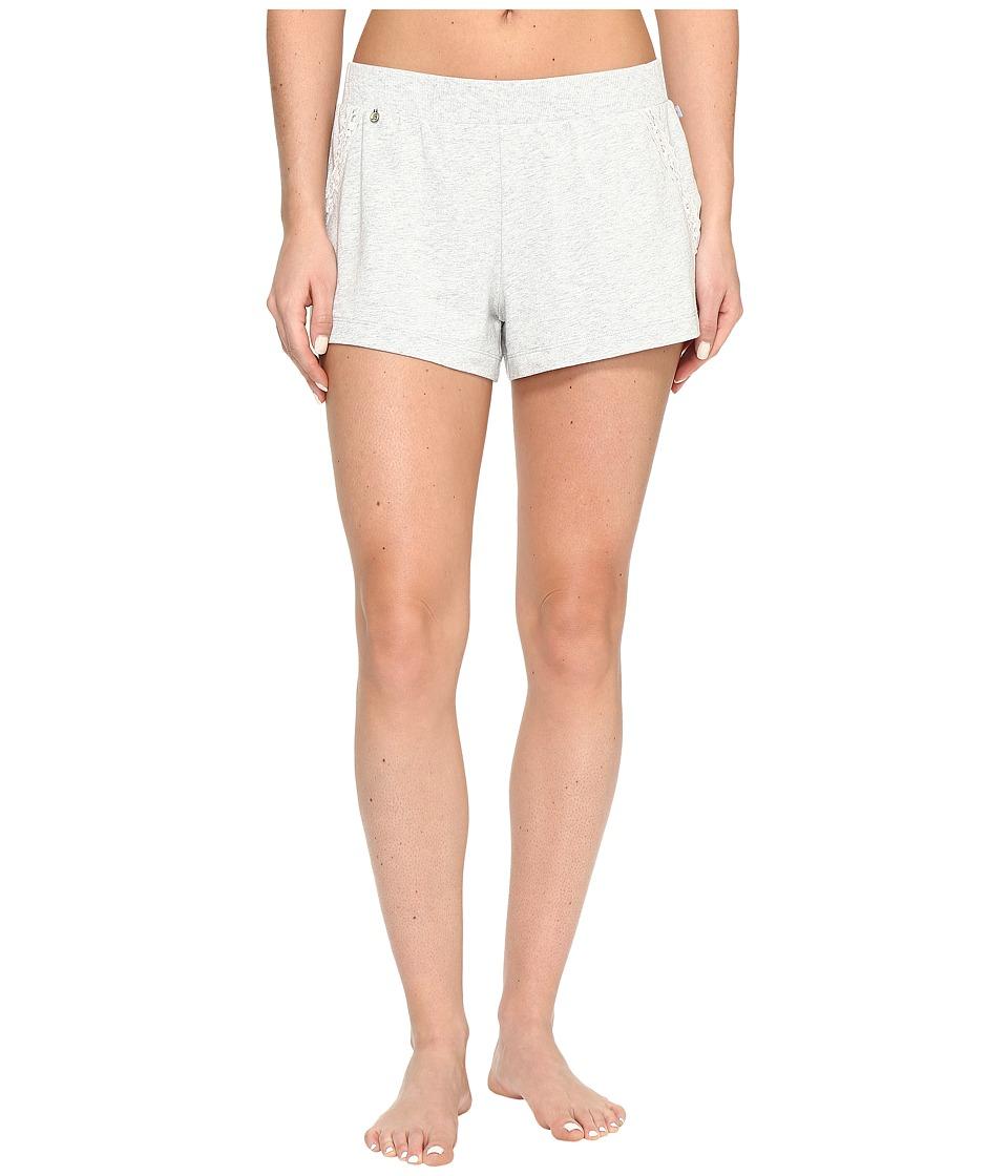 Jane & Bleecker - French Terry Shorts 3511304 (Light Heather Grey) Women's Pajama