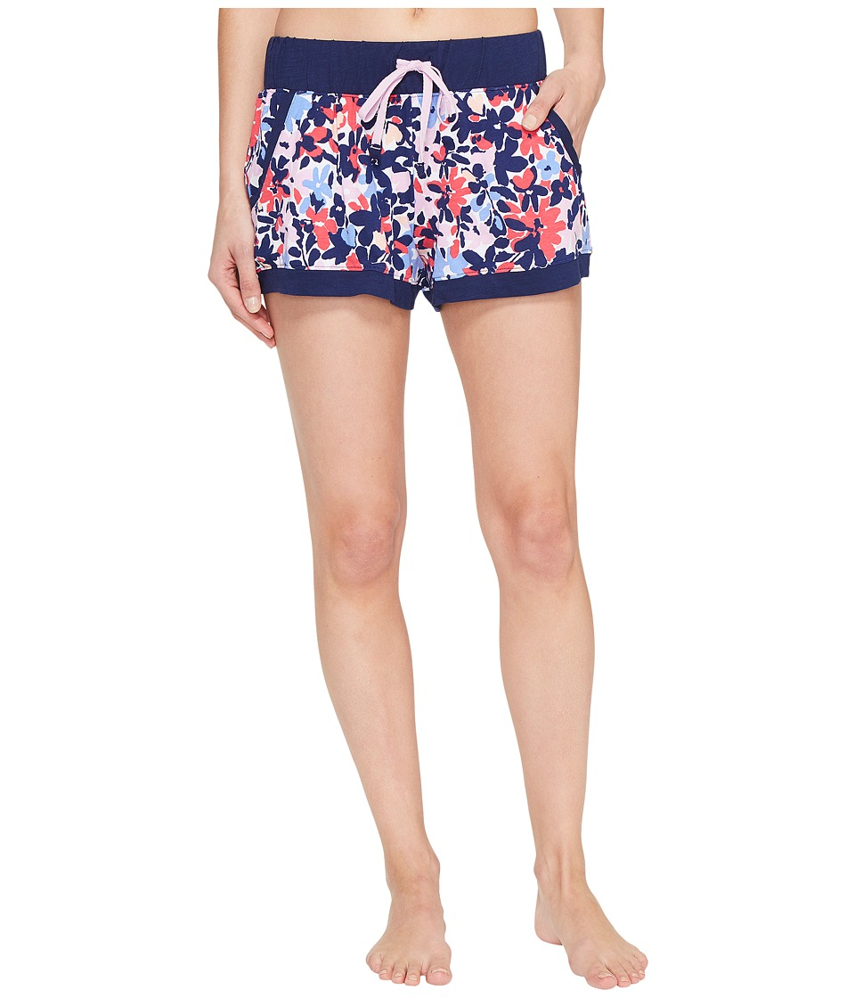 Jane & Bleecker - Jersey Shorts 3511303 (Painted Blossoms) Women's Pajama