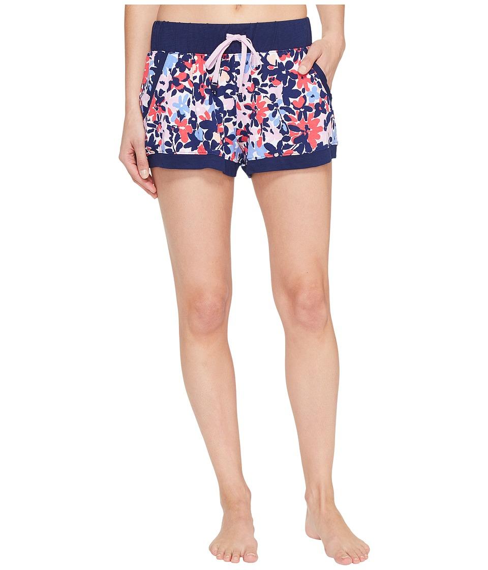 Jane & Bleecker - Jersey Shorts 3511303 (Painted Blossoms) Women's Pajama