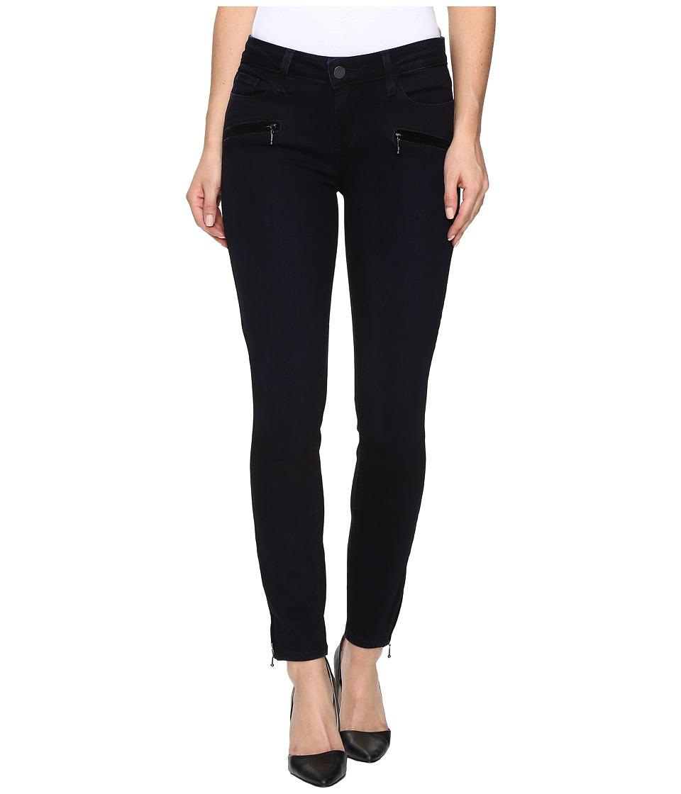 Paige - Jane Zip w/ Velvet Welt in Anderson (Anderson) Women's Jeans