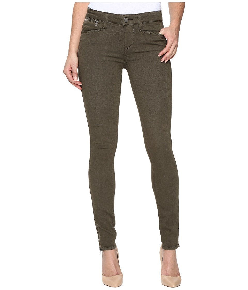 Paige - Shay Zip Ankle in Olive Leaf (Olive Leaf) Women's Jeans