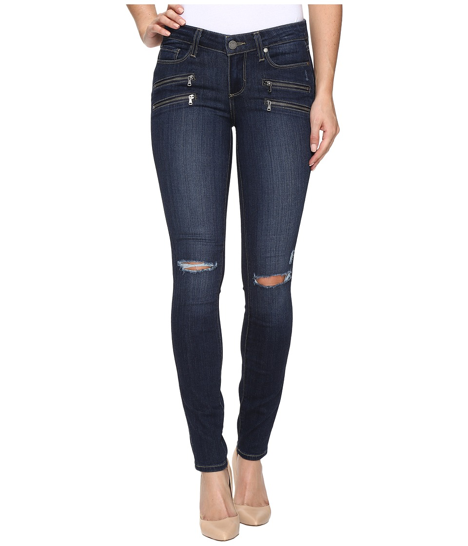 Paige Edgemont Ultra Skinny in Aveline Destructed No Whiskers (Aveline Destructed No Whiskers) Women